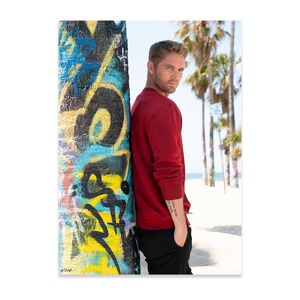 Brett Young: California Hand Numbered Poster