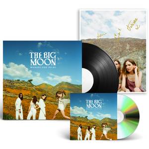 The Big Moon: CD + Black Vinyl + Signed Art Card