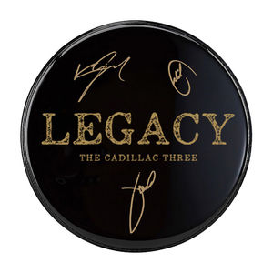 The Cadillac Three: Signed Legacy Drumhead