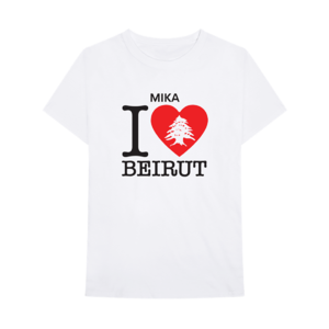 MIKA: I LOVE BEIRUT CHARITY T-SHIRT