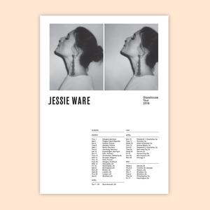 Jessie Ware: Tour Poster