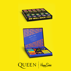 Queen: Happy Socks Queen 6-Pack Gift Box