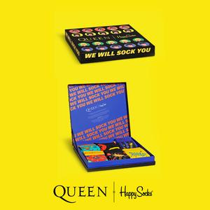 Queen: Happy Socks Queen 6-Pack Gift Box
