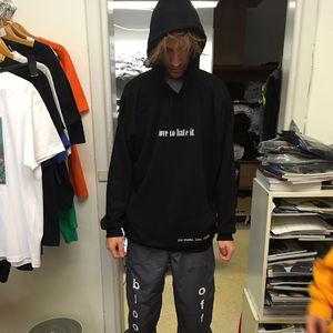 Off Bloom: Black Hoodie