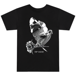 Pop Smoke: Dove + Rose Black T-Shirt + Digital Album