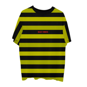 XXXtentacion: BAD VIBES STRIPED TEE I