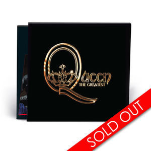 Queen: Greatest Hits Pop Up Store Exclusive Slipcase Cover Edition