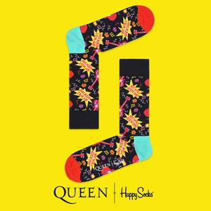 Queen: We Will Rock You Happy Socks