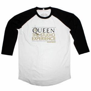 Queen The Studio Experience: Camiseta de béisbol The Studio Experience de Queen