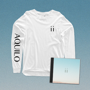 Aquilo: Signed CD + Black Longsleeve OR White Longsleeve