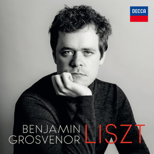 Benjamin Grosvenor : Liszt Signed CD