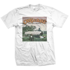 Chas & Dave: Chas and Dave Dont Give A Monkeys T-shirt