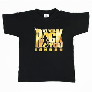 We Will Rock You: We Will Rock You Gold Transfer Kids T-Shirt