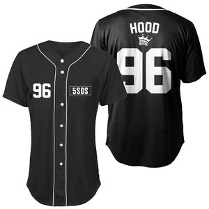 5 Seconds of Summer: Hood Baseball Shirt