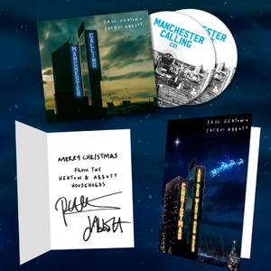 Paul Heaton & Jacqui Abbott: Manchester Calling (Double Deluxe Version) with Signed Christmas Card