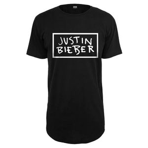 Justin Bieber: Long Line Unisex T-Shirt