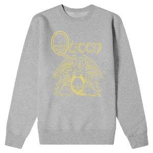 Queen: Yellow Crest Sweatshirt