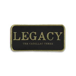 The Cadillac Three: Limited Edition Embroidered Legacy Patch