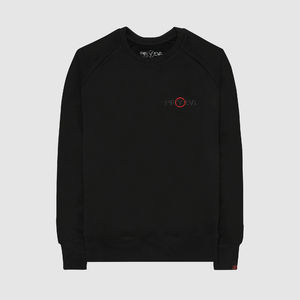 Eric Prydz: Pryda Logo 'Black on Black' Embroidered Sweatshirt