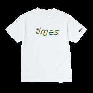 SG Lewis: Pixel Logo White T-Shirt