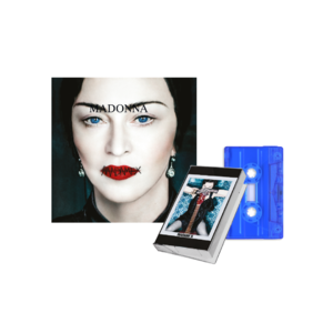 Madonna: Madame X CD + Blue Transparent Cassette