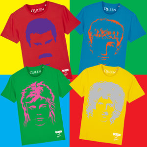 Queen: Limited Edition Hot Space T-Shirt Bundle