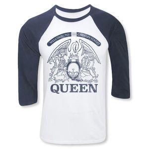 Queen: Carnaby Street Crest Raglan