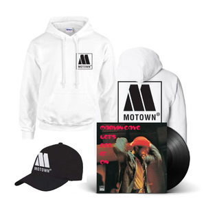 Motown: Hat, Hoody & Let's Get It On Vinyl