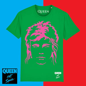 Queen: Limited Edition Hot Space Roger T-Shirt
