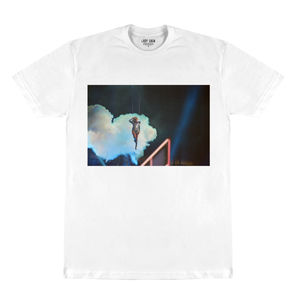 Lady Gaga: Lady Gaga Superbowl Photo White T-Shirt