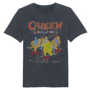 Queen: Kind Of Magic Colourful Print T-Shirt