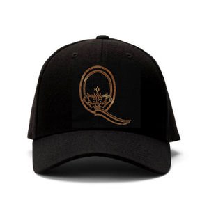 Queen: Q Gold Embroidered Cap