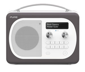 Pure: Evoke D4 Mio with Bluetooth (Pewter) - EU