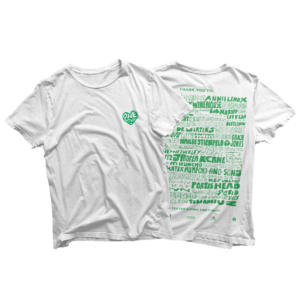 Island Records: ONE LOVE WHITE CHARITY TEE