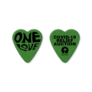 Island Records: ONE LOVE CHARITY PLECTRUM