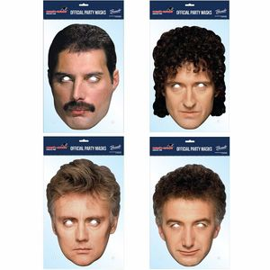 Queen: Official Queen Party Mask Set