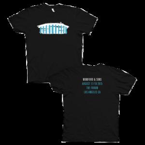 Mumford & Sons : The Forum Los Angeles, CA, 2015 Ladies T-shirt