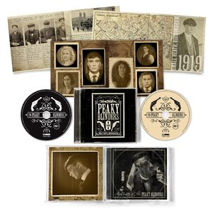 Various Artists: Peaky Blinders OST Series 1-5: 2CD & Exclusive Poster