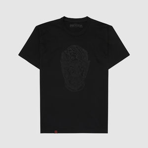 Eric Prydz: Pryda Head 'Black on Black' T-Shirt