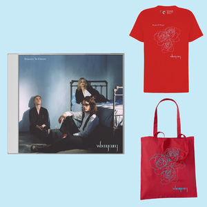 Whenyoung: Red Tee / Red Tote / CD Bundle