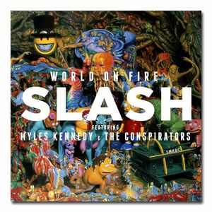 Slash: World On Fire CD