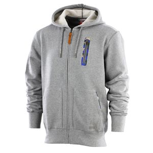 Professor Green: Tech FZ Hood Grey Heather