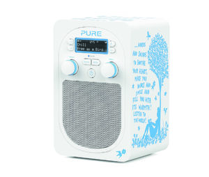 Pure: Evoke D2 with Bluetooth by Rob Ryan (White/Blue)