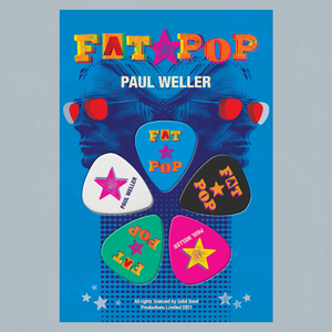 Paul Weller: Fat Pop Guitar Picks