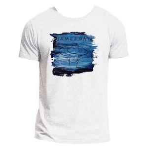 james bay: James Bay Heather Grey Single T-Shirt