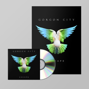 Gorgon  City: ESCAPE SIGNED CD + PRINT BUNDLE