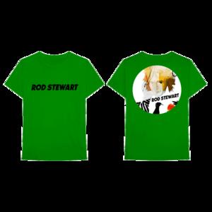 Rod Stewart: BRR GREEN TEE