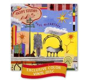 Paul McCartney: Egypt Station Standard Coloured Vinyl