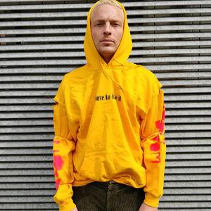 Off Bloom: Customised hoodie by off bloom