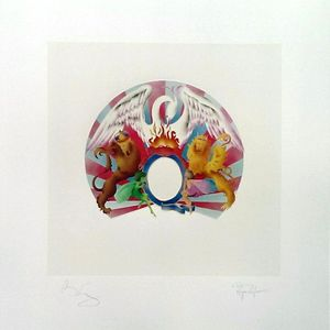 Queen: A Night At The Opera Fine Art Print Signed By Brian May And Roger Taylor